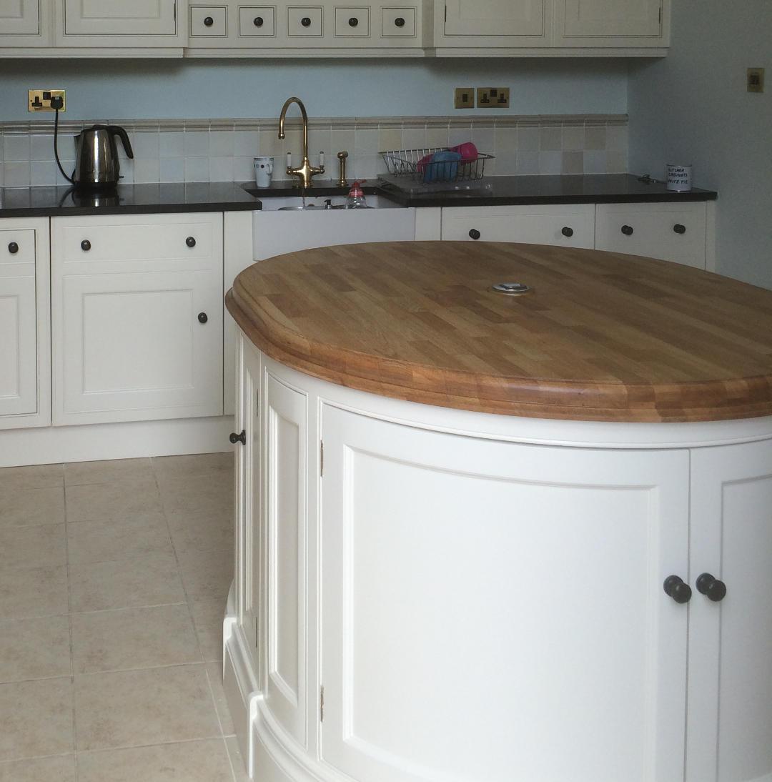 Hand Painted Kitchen Cabinets: Ian Merriman