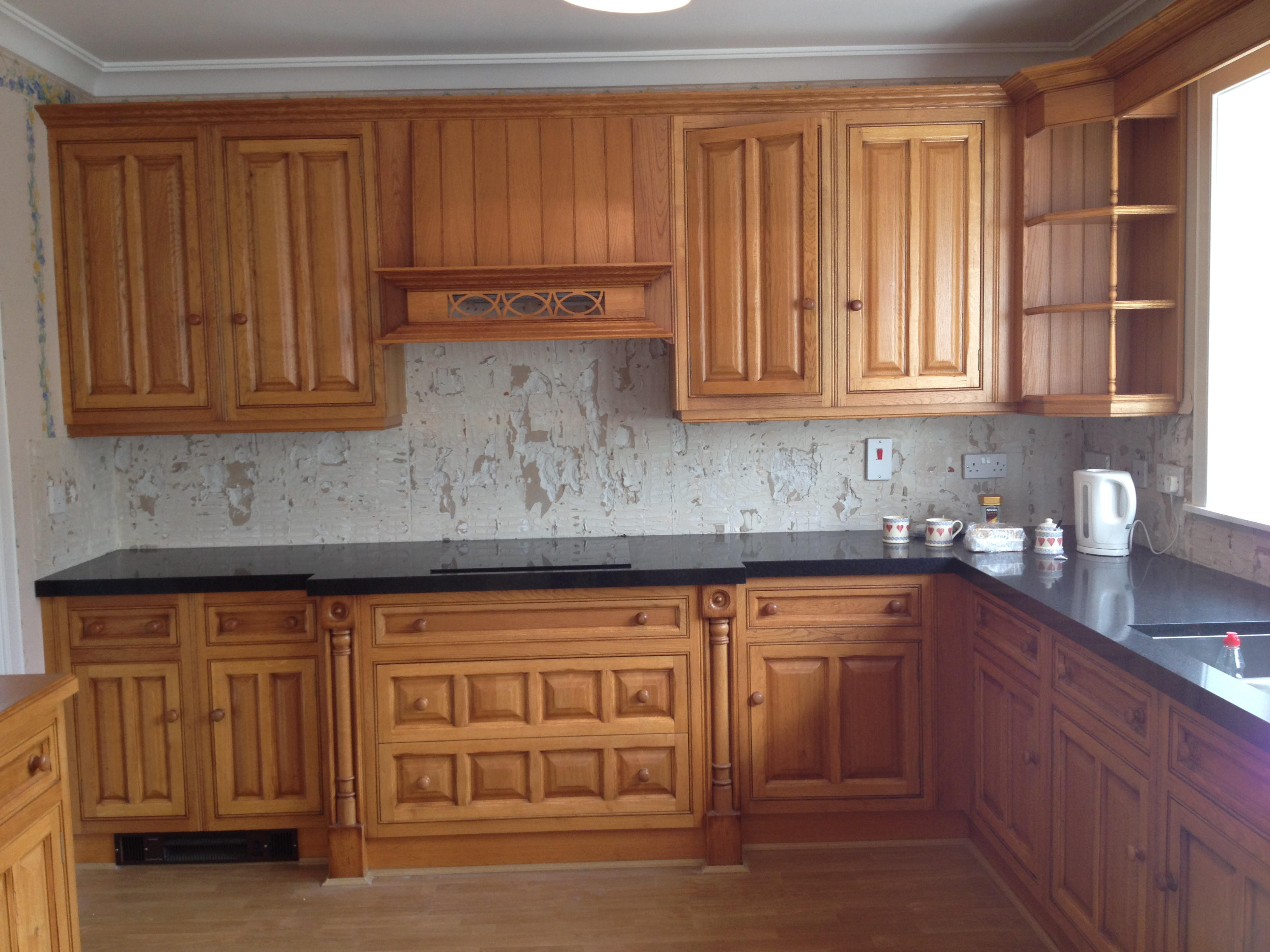 Original wood effect kitchen
