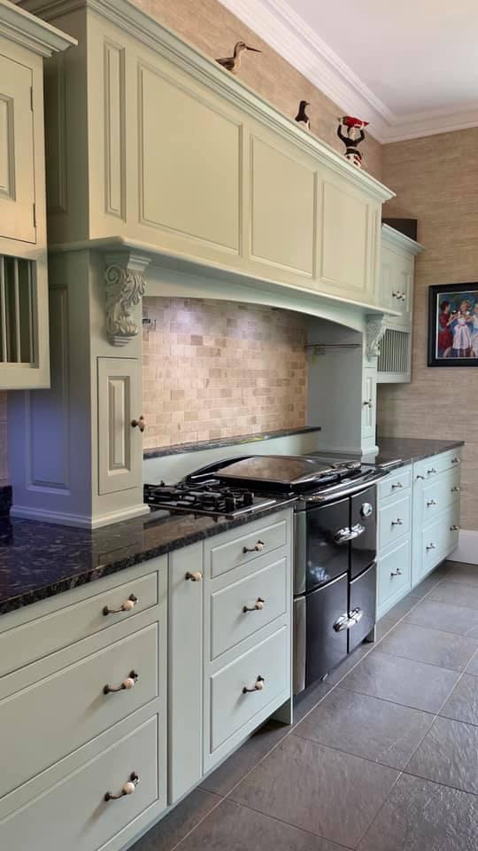 Han painted North Berwick kitchen