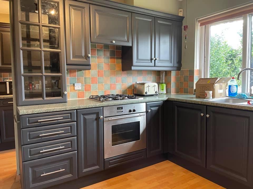 Transformed solid oak kitchen